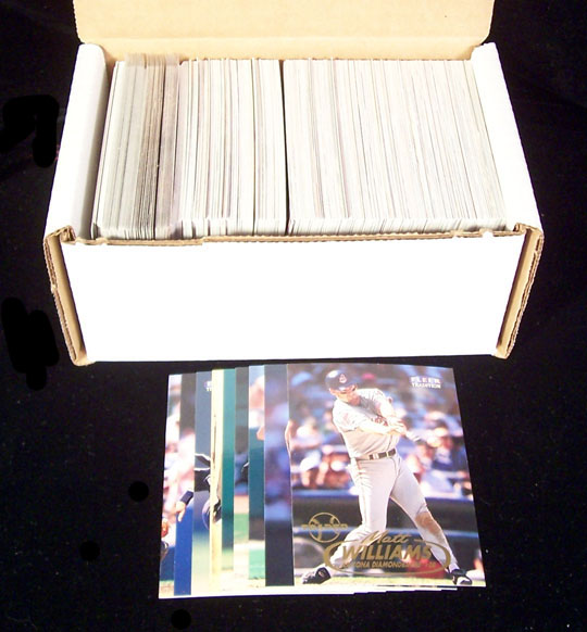 1998 Fleer Tradition - COMPLETE SET Series 1+2 (600 cards) Baseball cards value