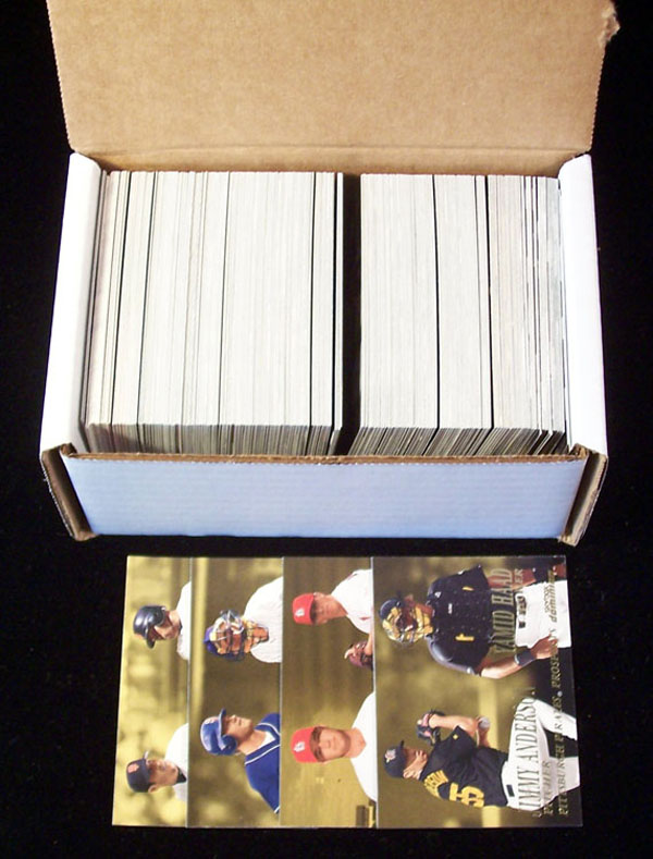 2000 Skybox DOMINION - COMPLETE SET (#1-300) Baseball cards value
