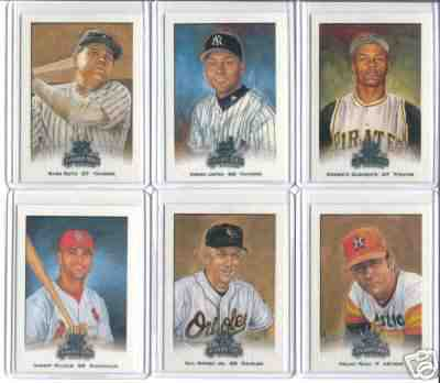 2002 DIAMOND KINGS - COMPLETE base SET (#1-100) Baseball cards value