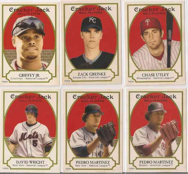 2005 Topps CRACKER JACK - COMPLETE SET (#1-250) Baseball cards value