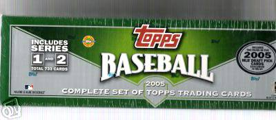2005 Topps - FACTORY SET (737 cards) Baseball cards value