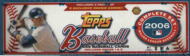 2006 Topps - FACTORY SET * SEALED Special Holiday Set * (659 cards) Baseball cards value