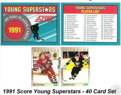 1991-92 Score YOUNG SUPERSTARS Hockey - CASE of (36) SEALED FACTORY SETS Hockey cards value