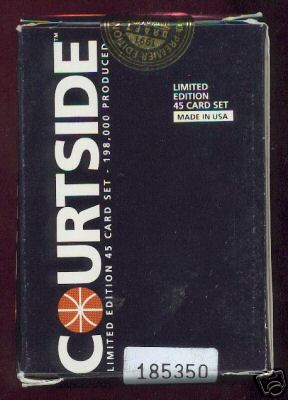 1991 Courtside Draft Picks Basketball - CASE of (20) FACTORY SEALED SETS Basketball cards value