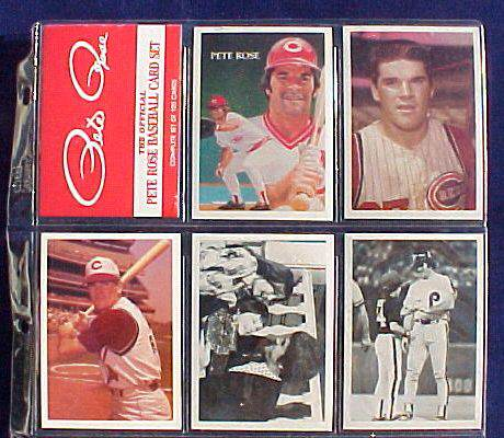 1985 Topps PETE ROSE - COMPLETE SET - IN FACTORY BOX (120 cards) Baseball cards value