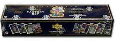 1993 Upper Deck - Complete Factory Set (in Factory Box) (840 cards) Baseball cards value