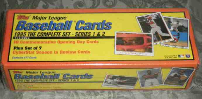 1995 Topps - SEALED FACTORY SET (660 cards + 17 SPECIAL INSERTS !!!) Baseball cards value
