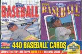 1996 Topps FACTORY SET - CEREAL BOX VERSION !!! (440 cards PLUS extras!) Baseball cards value