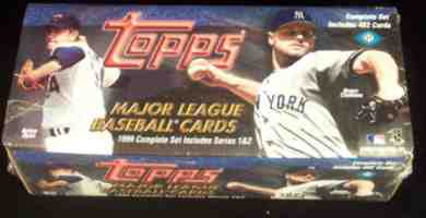 1999 Topps - SEALED BLACK FACTORY SET (452 cards) Baseball cards value