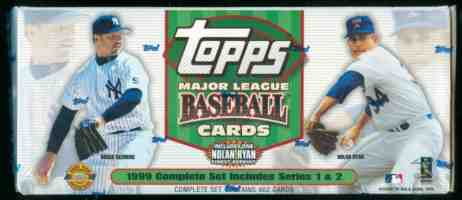 1999 Topps - SEALED WHITE FACTORY SET (452 cards+SPECIAL RYAN FINEST) Baseball cards value