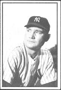 1953 Bowman Black/White Baseball card front