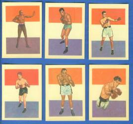 1956 GUM Inc. ADVENTURE w/Boxing  N card back