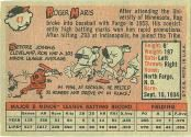1958 Topps Baseball card back
