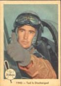 1959 Fleer Ted Williams Baseball card front
