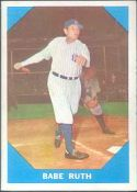 1960 Fleer Baseball card front