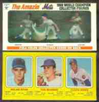 1969/1970 Transogram Statues/Figurines & Cards Baseball card back
