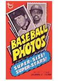 1974 Topps Deckle Edge Baseball card front