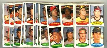 1974 Topps Stamps Baseball card front