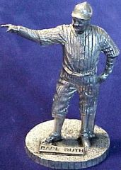 1979 Signature Pewter Statues Baseball card back