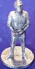 1979 Signature Pewter Statues Baseball card front
