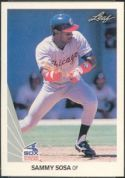 1990 Leaf Baseball card front