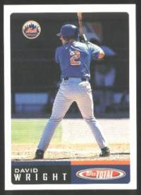 2002 Topps Total  Baseball card front