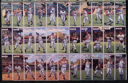 1955 Topps Doubleheaders Baseball Cards Set Checklist