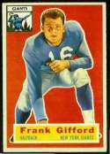 1956 Topps Football card front
