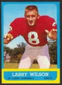 1963 Topps Football card front