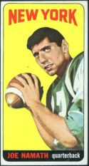 1965 Topps Football card front