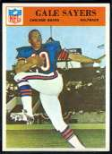 1966 Philadelphia Football card front
