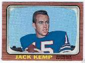 1966 Topps Football card front