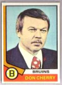 1974-75 Topps Hockey card front