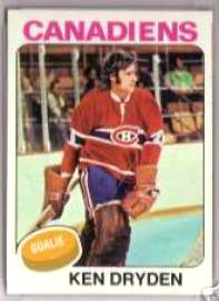 1975-76 Topps Hockey card front