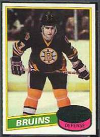 1980-81 Topps Hockey card front