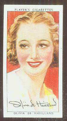 1938 Player's Film Stars  n card front