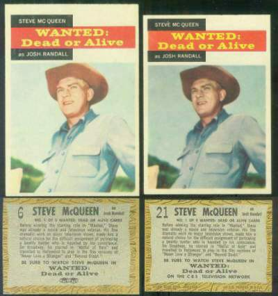 1958 Topps TV Westerns  n card front